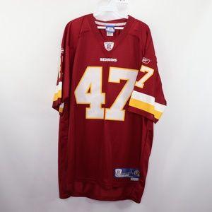 Reebok Washington Redskins Cooley Stitched Jersey